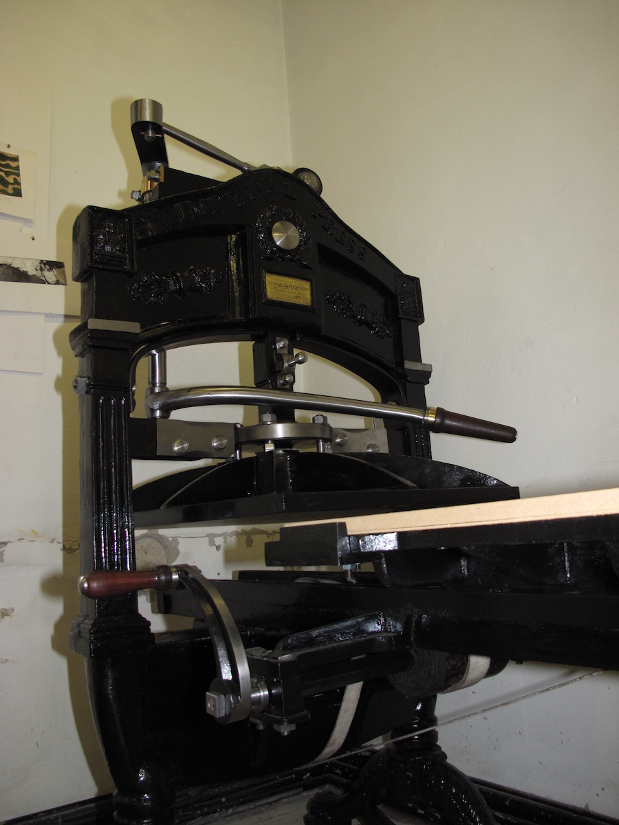 Refurbishment imperial press harry f rochat ltd for Imperial printing