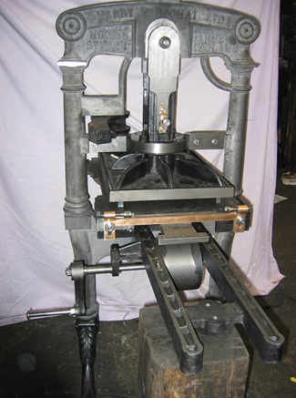 Albion Presses - Harry F Rochat Ltd